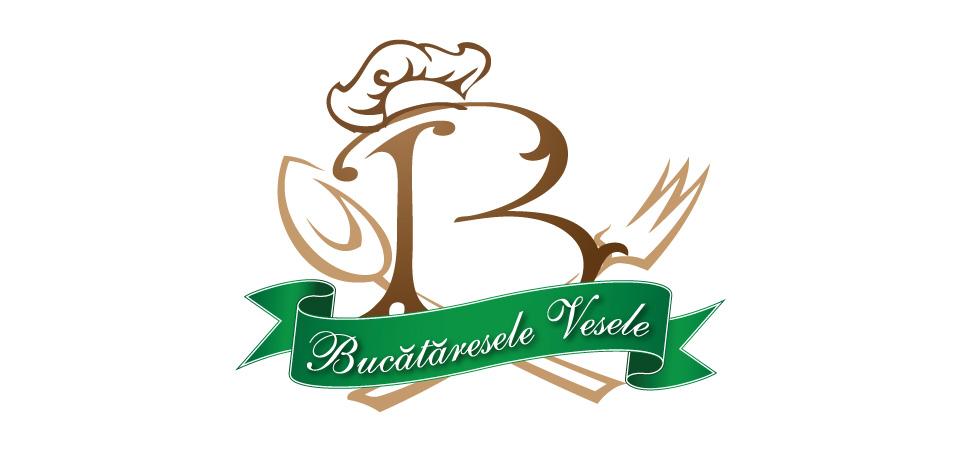 bucataresele vesele logo redesign