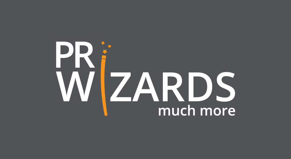 logo design PR Wizards